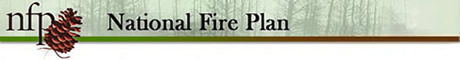 National Fire Plan banner