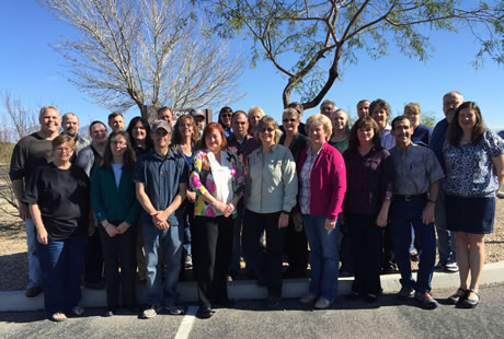 Group picture of the attendees at the Technical Workgroups Meeting February 24 to 27, 2015.